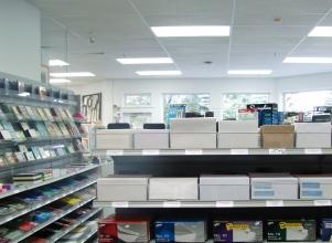 Qualicum Stationers inside store
